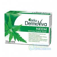 Натуральное Мыло Vatika Dermoviva Neem 115 Г