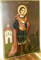 Икона Св. Никита Бесогон  19 век