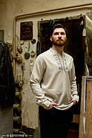Чоловіча вишита сорочка Радан сіра