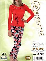 Пижама женская с бабочкой