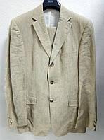 Мужской льняной костюм Hugo Boss. Оригинал!
