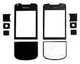 Стекло экрана Nokia 8800 arte black полный комплект + самоклейка original