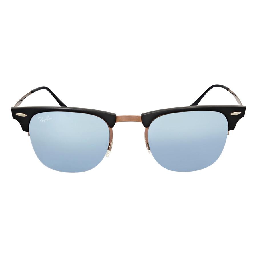 1694907d4912 Солнцезащитные очки Ray-Ban Clubmaster Light Ray 49MM Green Mirror RB8056  176/30 -