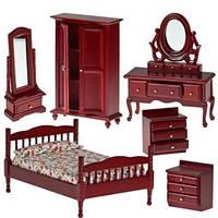 Набор мебели для спальни махагон АМ0102037, Art of mini