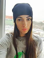 Стильная женская теплая шапка с камнями L10033