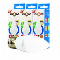 Набор LED ламп BIOM C37 4W 4500K E27 (по 3 шт.)