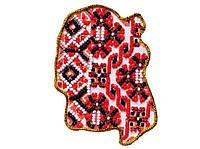 Набор для вышивки бисером Магнит Карта Украины Житомирская область AMK-006