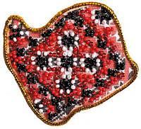 Набор для вышивки бисером Магнит Карта Украины Волынская область AMK-003