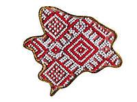 Набор для вышивки бисером Магнит Карта Украины Запорожская область AMK-008