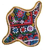 Набор для вышивки бисером Магнит Карта Украины Ивано-Франковская область AMK-009