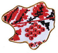 Набор для вышивки бисером Магнит Карта Украины Харьковская область AMK-020