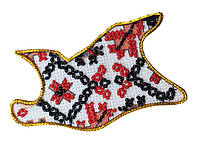 Набор для вышивки бисером Магнит Карта Украины Черкасская область AMK-025