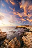 Кафель панно Берег моря, плитка 20х30см.