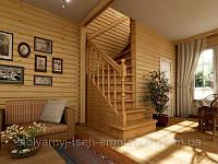 Изготовление лестниц из массива, Одесса