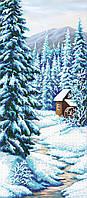 "Схема для вышивки бисером ""Зима"", 24х55 см"