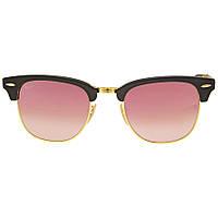 Солнцезащитные очки Ray-Ban Clubmaster Folding Copper Gradient Flash RB2176901S7O51