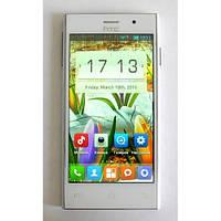 """Смартфон HTC 616 White белый 4,5"""" 0,5/1GB 3,2/1,3Mp Гарантия! Уценка-полосы на экране,не работает фронтальная."""