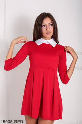 Жіноче офісне червоне плаття Olis