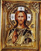 Икона с позолотой Спаситель (Господь Вседержитель), фото 1