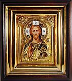 Икона с позолотой Спаситель (Господь Вседержитель), фото 2