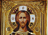 Икона с позолотой Спаситель (Господь Вседержитель), фото 3