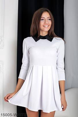 Жіноче біле офісне плаття Olis