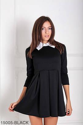 Жіноче чорне офісне плаття Olis