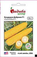 Семена сахарной кукурузы Добрыня F1 (Lark Seeds, САДЫБА ЦЕНТР), 20 сем — ранняя суперсладкая, №1 в Украине