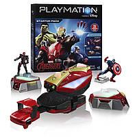 Игровой набор Playmation Marvel Avengers Starter Pack Repulsor и Ultron Prowle Bot. Оригинал,Hasbro