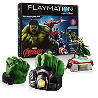 Игровой набор Playmation Marvel Avengers Starter Pack Gamma Gear и Ultron Prowler Bot. Оригинал, Hasbro