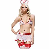 Комплект медсестры юбочкой