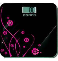 Электронные весы напольные бытовые Polaris PWS 1523DG, максимальная нагрузка 150 кг, стекло
