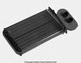 Радиатор салона печка PASSAT B3 B4 GOLF 2 GOLF 3 OCTAVIA 1U CADDY 2 VENTO производитель Meyle Германия