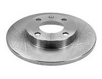 Тормозной диск передний GOLF 2 JETTA 2 PASSAT B2 VAG 839615301 производитель Meyle Германия