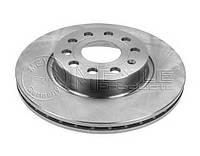 Тормозной диск передний SKODA OCTAVIA A5 1Z CADDY 3 GOLF 5 1.2-3.2 05.03- производитель Meyle Германия