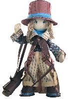 В набор входит все необходимое для создания текстильной каркасной куклы: напечатанные лекала куклы, напечатан