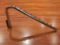 Кронштейн настенный для одежды поворотный толстая труба