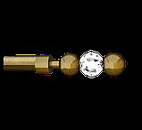 Наконечник для карнизной трубы 19-EG-151, фото 2