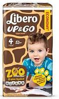 Подгузники-трусики детские Libero Up&Go 4 7-11  кг 52 шт (7322540591057)