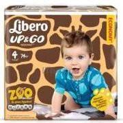 Подгузники-трусики детские Libero Up&Go 4 7-11  кг 74 шт (7322540591828)