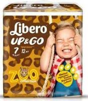 Подгузники-трусики детские Libero Up&Go 7 16-26  кг 24 шт (7322540599923)