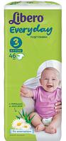 Подгузники детские Libero Everyday 3 4-9 кг 46 шт  (7322540613483)
