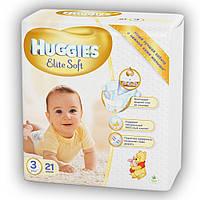 Подгузники Huggies Elite Soft 3 Small 21 шт (5029053545271)
