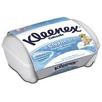 Туалетная бумага влажная Kleenex Clean Care пластиковой  коробке 42 шт (5029053019093)