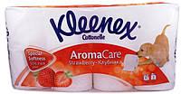 Туалетная бумага Kleenex Клубника 8шт (5029053545073)