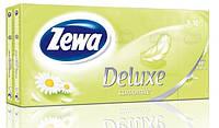 Платочки Zewa Deluxe camomile 3 слоя 10шт (7322540098846)