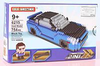 Конструктор LELE Brother Автомобиль WRX STI + Браян  О'коннер, синий (6215)