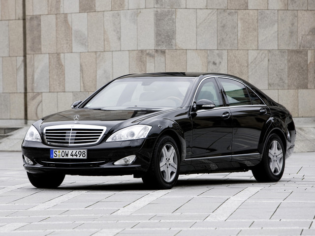 Диски и шины на Mercedes Benz S-Class Guard W 221