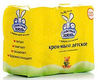 Крем-мыло Ушастый нянь з алоэ 4х100 г (4600697102009)