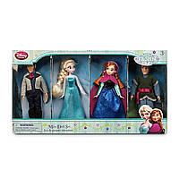 Анна Эльза Кристофф и Ханс Холодное сердце Дисней набор мини кукол / Frozen Disney
